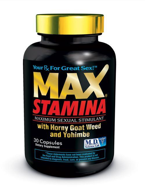 Max Stamina 30pc Bottle