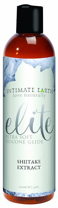 Intimate Earth Elite Silicone Shitake Glide 4oz