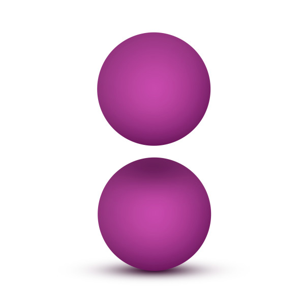 Luxe Double O Kegel Balls 1.3 Oz Pink